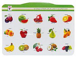 کارت تصویری میوه ای