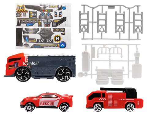 قطعات مختلف اسباب بازی