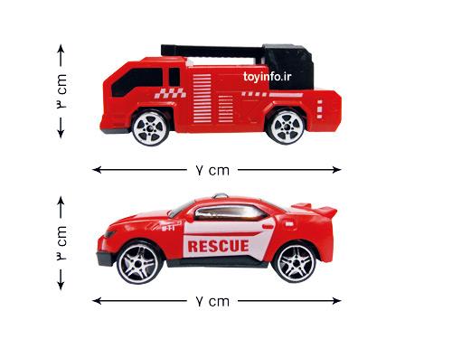 ماشین های کوچک آتش نشانی