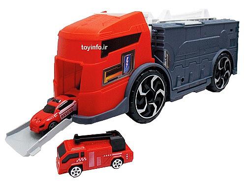 ماشین های آتش نشانی مشابه نمونه واقعی