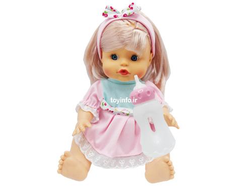 عروسک یاسمن با قابلیت خوردن شیر