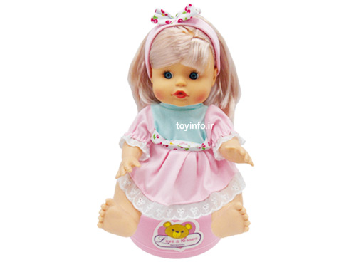 عروسک با قابلیت دستشویی کردن