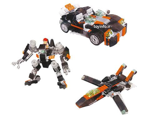 مدل های مختلف از لگو ماشین