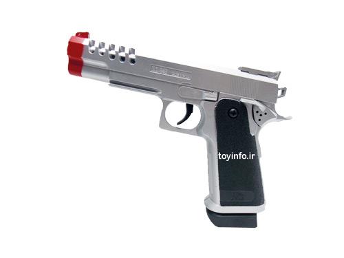 نمای جانبی از تفنگ