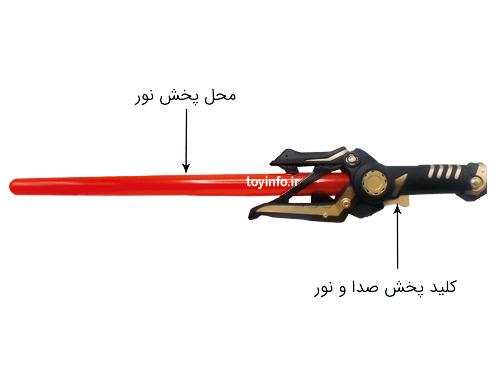 جزییات شمشیر