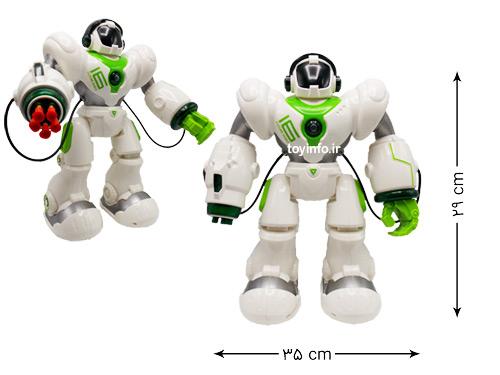 ابعاد ربات جنگجو