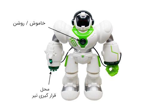جزییات ربات