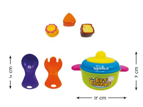 ابعاد قابلمه اسباب بازی