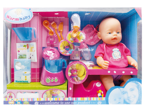بسته بندی عروسک نوزاد