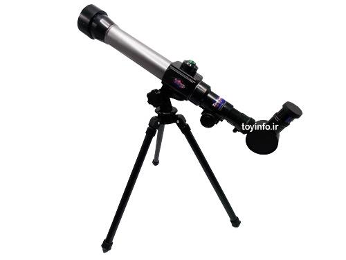 زاویه جانبی از تلسکوپ