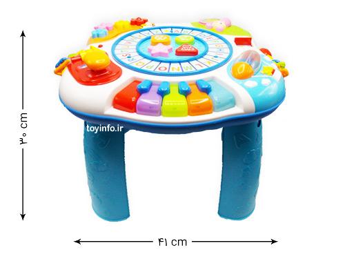ابعاد میز بازی
