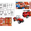 پارکینگ و ماشین های آتش نشانی ، اسباب بازی پسرانه