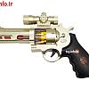 تفنگ موزیکال با فلش تصویر