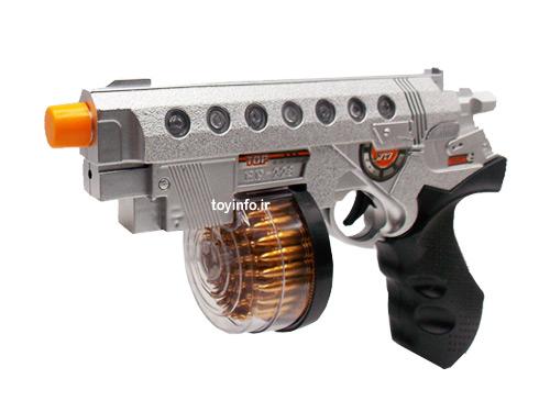 زاویه جانبی از تفنگ