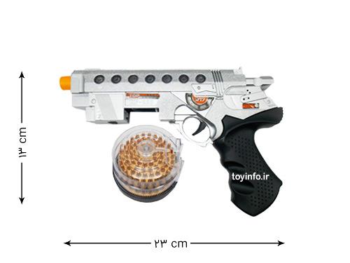 ابعاد تفنگ