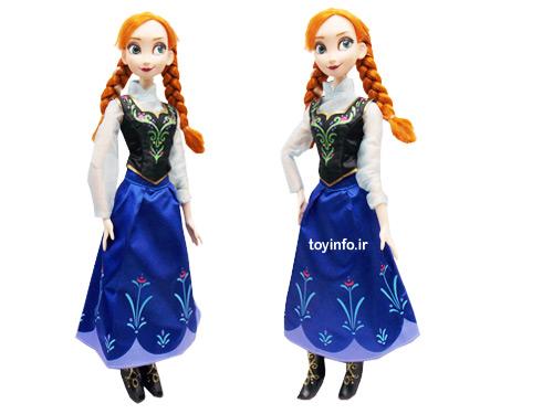 عروسک آنا , شخصیت محبوب