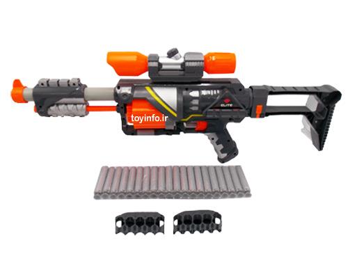 اسلحه تیر فومی با لوازم جانبی