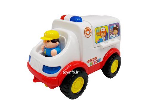 راننده ماشین آمبولانس