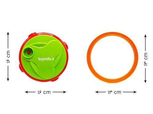 ابعاد پایه و حلقه