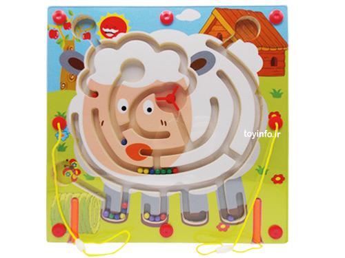 ماز مغناطیسی با طرح گوسفند