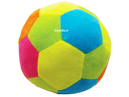 رنگ بندی شاد در طراحی توپ پولیشی