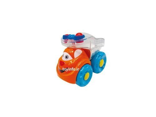 ماشین کارتونی نارنجی