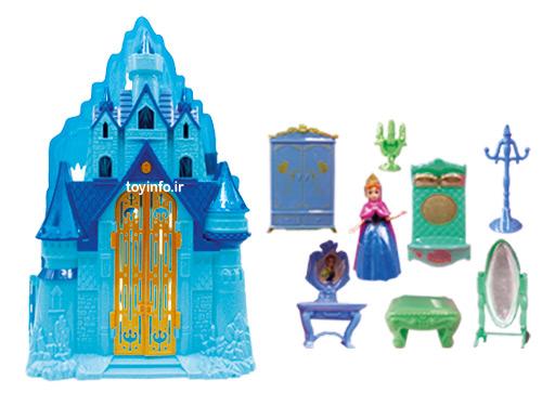 قصر یخی فروزن , اسباب بازی دخترانه