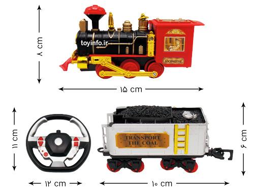 ابعاد قطار کلاسیک