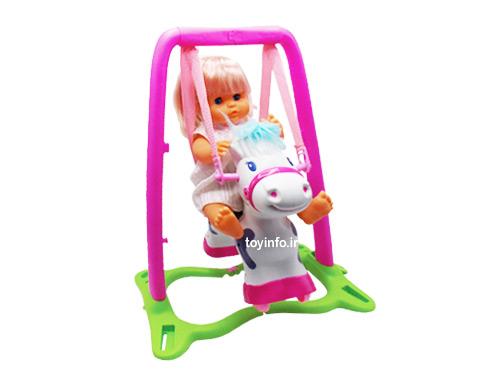 عروسک اسب سوار