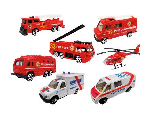 ماشین های آتش نشانی