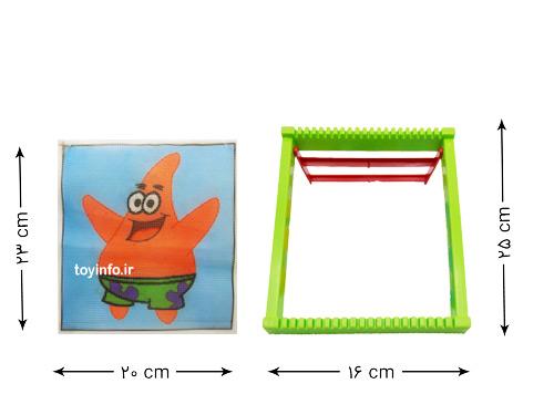 ابعاد دار قالی بافی و کوبلن