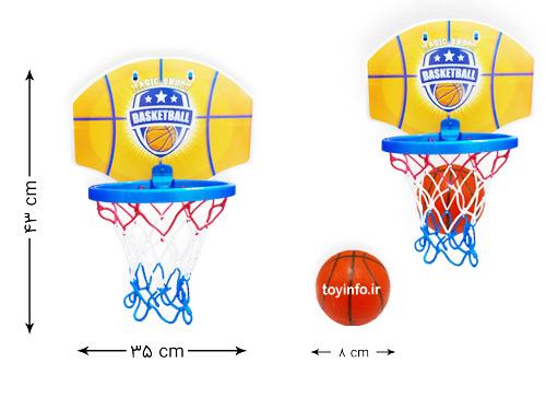 ابعاد توپ و بسکتبال
