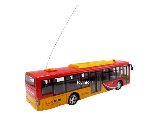تصویری از پشت اتوبوس