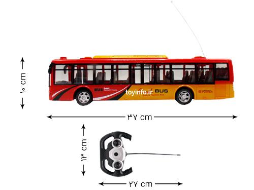 ابعاد اتوبوس و کنترل آن