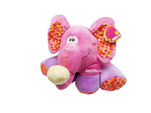 فیل کوچولوی صورتی
