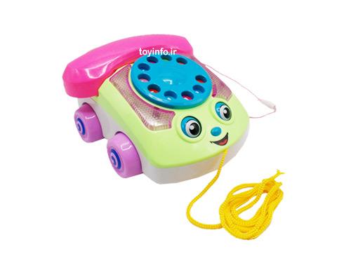 تلفن چرخ دار موزیکال