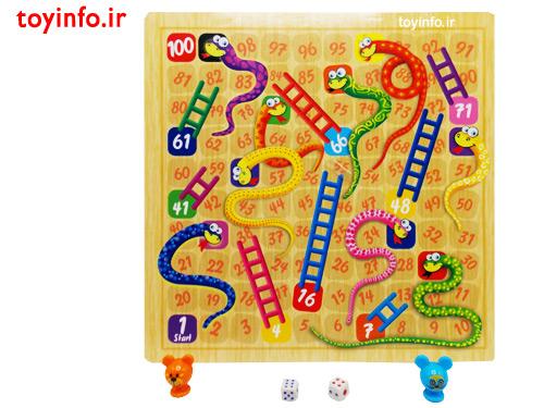 صفحه بازی منچ و مارپله