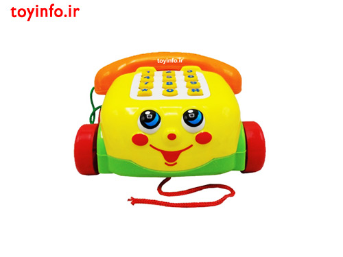 تلفن زرد رنگ