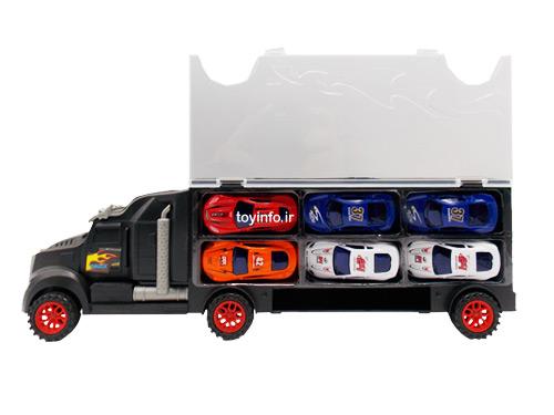 تریلی ماشین بر کوچک