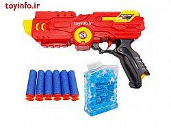 تفنگ تیر ژله ای