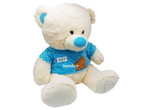 خرس لباس آبی