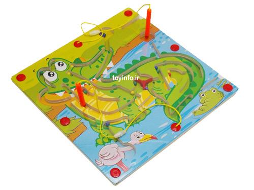 صفحه بازی ماز
