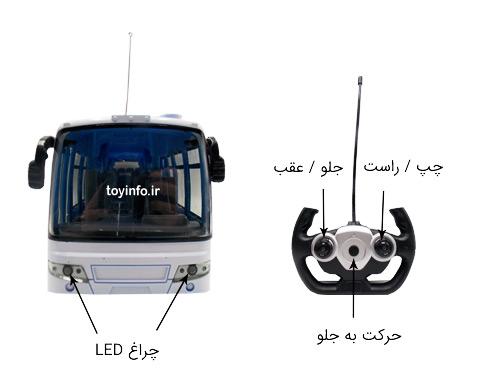 جزییات اتوبوس