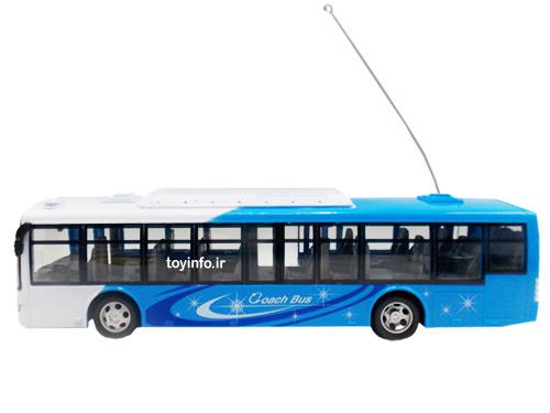 اتوبوس مسافربری آبی