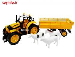 تراکتور حمل حیوانات مزرعه