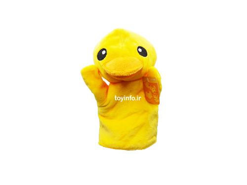 عروسک جوجه اردک زرد