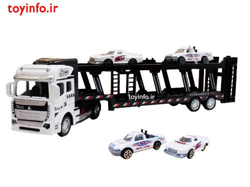 کامیون حمل اتومبیل های کوچک