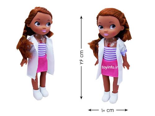 قد عروسک خانم دکتر کوچولو