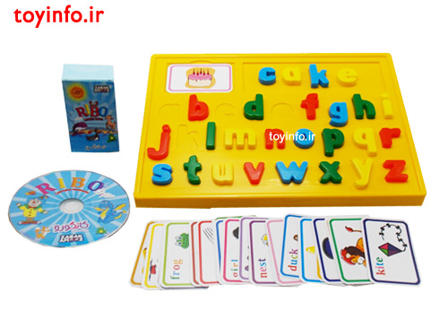 زبان آموز , اسباب بازی آموزشی
