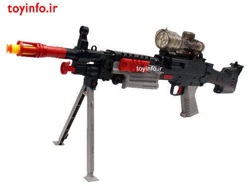 اسلحه پلاستیکی پایه دار